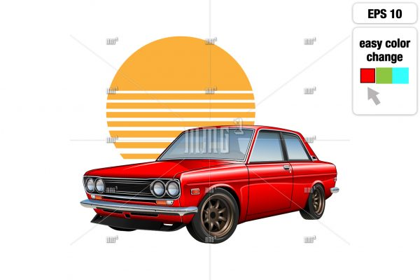 easy to change the car's body color